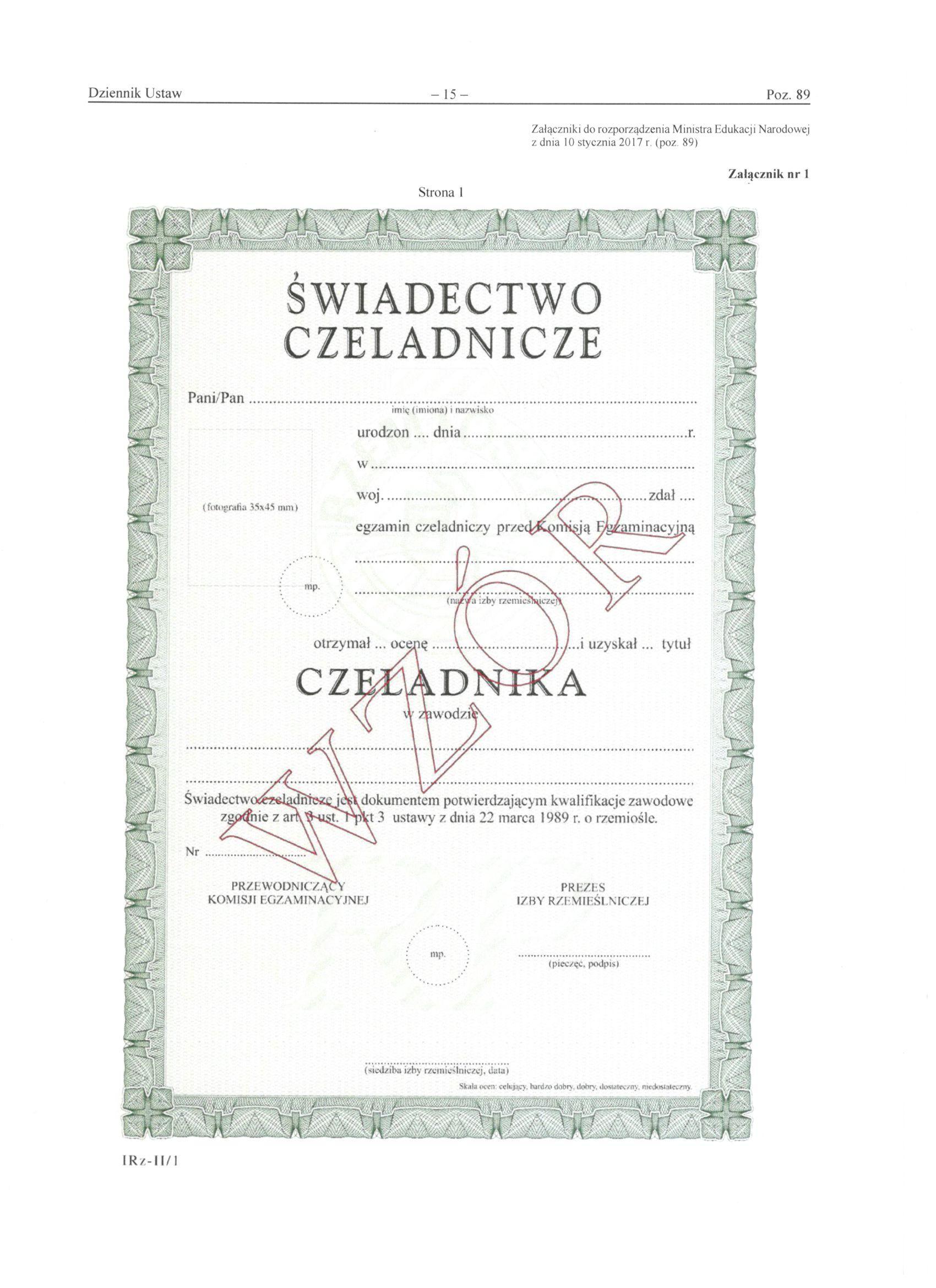 świadectwo czeladnicze-2017r.